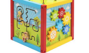 Ο κύβος που βοηθά τα παιδιά να ανακαλύψουν και να εξασκήσουν τις δεξιότητες τους