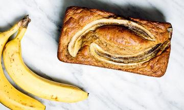 Cake μπανάνα χωρίς ζάχαρη για μετά τις κραιπάλες και όχι μόνο