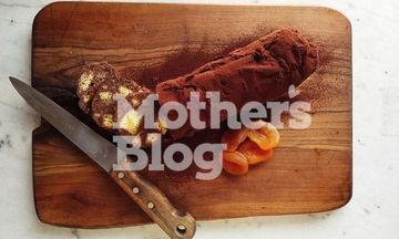 Μωσαϊκό με πασχαλινή σοκολάτα και κουλουράκια από τον Γιώργο Γεράρδο