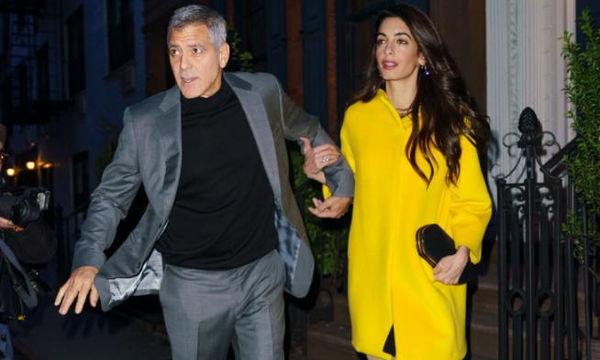 Η Amal Clooney στο εξώφυλλο της αμερικανικής Vogue