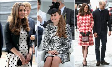 Kate Middleton: Βάζουμε στο μικροσκόπιο τις τρεις εγκυμοσύνες της και κάνουμε τη σύγκριση (pics)