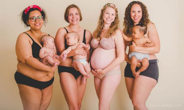 Το σώμα μετά την εγκυμοσύνη - Υπέροχες φωτογραφίες με γυναίκες που τολμούν να δείξουν τα κορμιά τους