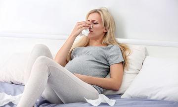 Βουλωμένη μύτη στην εγκυμοσύνη; Τι να κάνετε (vid)