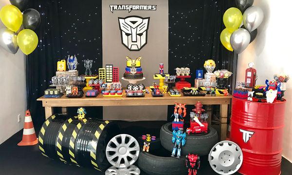 Transformers: Ιδέες για να διακοσμήσετε το πάρτι του παιδιού σας