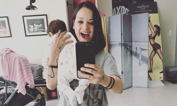 Το τρυφερό βίντεο της Κατερίνας Τσάβαλου με την κόρη της ξετρέλανε το διαδίκτυο
