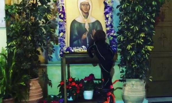 Στέλιος Χανταμπάκης: Δείτε το νέο βίντεο με τον γιο του που ξετρέλανε το Instagram
