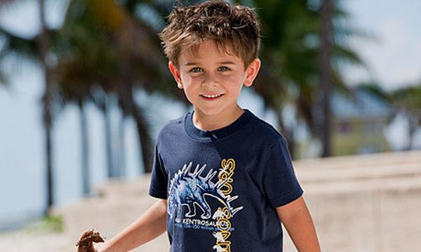Μπλούζα για αγόρια που λατρεύουν τους δεινόσαυρους