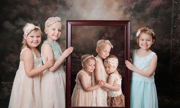 Η τρυφερή φωτογράφηση τριών κοριτσιών έγινε viral