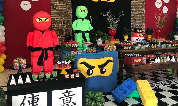 Υπέροχο παιδικό πάρτι με θέμα τα Ninjago - Ιδέες για να το οργανώσετε (pics)