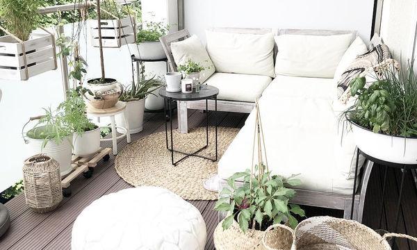 Απίθανες ιδέες για να ανανεώσετε το μπαλκόνι του σπιτιού σας