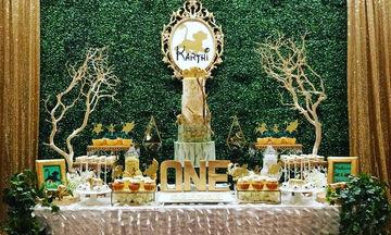Παιδικό πάρτι γενεθλίων με θέμα τον Βασιλιά τον Λιονταριών (Lion King) (pics)