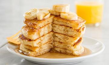 Λαχταριστά pancakes για vegan