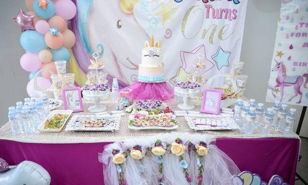 Παιδικό πάρτι με θέμα τον Μονόκερο - Το πάρτι που ζητούν όλα τα κορίτσια (pics)