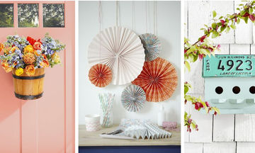Τριάντα ιδέες για ανάλαφρη καλοκαιρινή διακόσμηση του σπιτιού σας (pics)