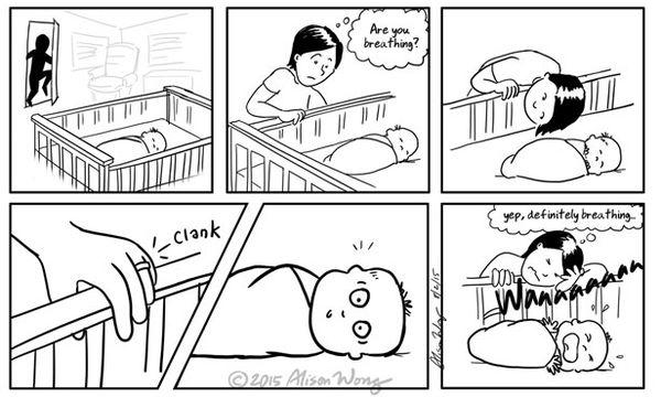 Ο πρώτος χρόνος της μητρότητας μέσα από είκοσι ρεαλιστικά και αστεία σκίτσα (pics)