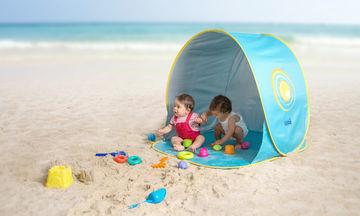 Βρεφική τέντα μωρού με UV προστασία - Ιδανική για τη θάλασσα