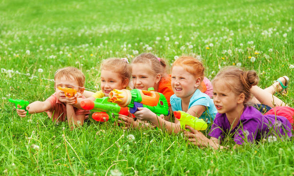 Παιχνίδι με νεροπίστολα - Διασκέδαση και δράση μαζί