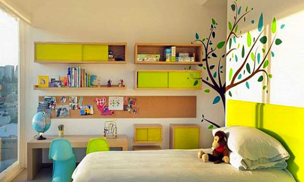 Είκοσι οικονομικές ιδέες διακόσμησης για το παιδικό δωμάτιο (pics)