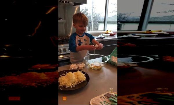 Αυτό το αγόρι απολαμβάνει να σπάει αυγά (video)