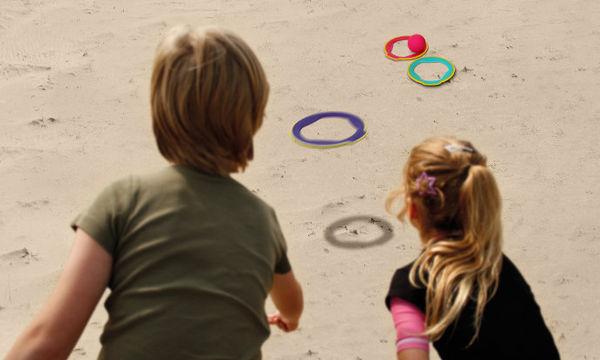 Κρίκοι με μπάλα για παιχνίδια στην άμμο - Παίξτε με κάτι διαφορετικό!