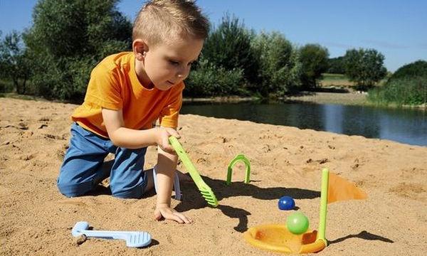 Γκολφ παραλίας για παιχνίδι στην άμμο