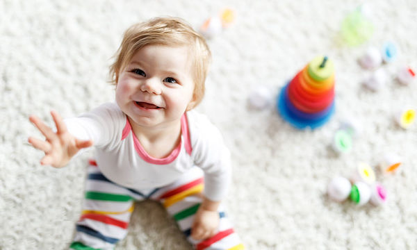 Το μωρό μου είναι 16 μηνών και είναι υπερκινητικό; Τι να κάνω;