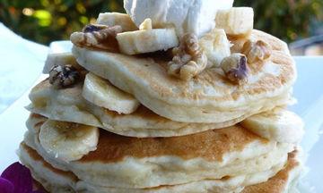 Για τη γιορτή του Πατέρα φτιάξτε στους μπαμπάδες pancakes μπανάνα