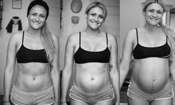 Ζευγάρι κατέγραψε τους 9 μήνες εγκυμοσύνης σε βίντεο ως ενθύμιο στο παιδί τους (video)