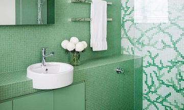 Θα λέγατε ναι σε ένα πράσινο μπάνιο; Αν ναι, τότε δείτε υπέροχες ιδέες από το Instagram