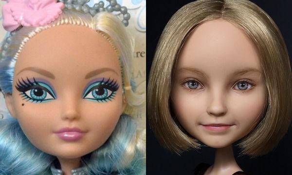 Δείτε πώς θα ήταν οι κούκλες αν δεν είχαν μακιγιάζ - Το αποτέλεσμα θα σας εντυπωσιάσει