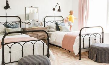 Δίδυμα στο ίδιο δωμάτιο: Ιδέες διακόσμησης (pics)