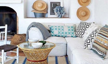 Εικοσιπέντε ιδέες για ανάλαφρη καλοκαιρινή διακόσμηση του σπιτιού σας (pics)
