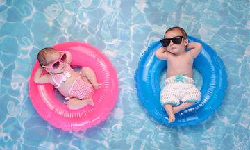Ζέστη και μωρό: Τι να προσέξετε