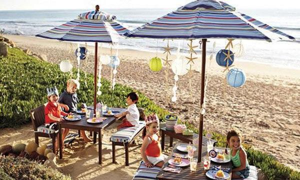 Παιδικό πάρτυ στην παραλία: 17 ιδέες για να το οργανώσετε