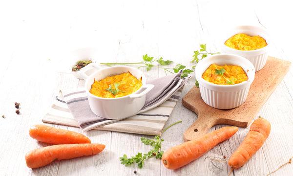 Σουφλέ καρότου στο φούρνο
