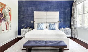 Έξυπνες ιδέες για να διακοσμήσετε τον τοίχο πίσω από το κρεβάτι σας (pics)