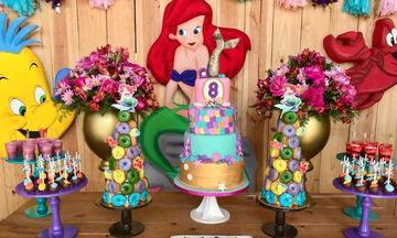 Πριγκίπισσα Ariel: Απίθανες ιδέες για πάρτι γενεθλίων