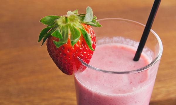 Πανεύκολο milkshake φράουλα