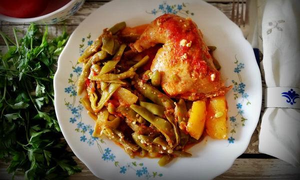 Κοτόπουλο με φασολάκια - Το απόλυτο καλοκαιρινό φαγητό
