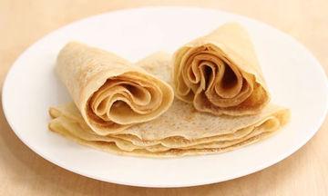 Συνταγή για εύκολες και νόστιμες κρέπες (vid)