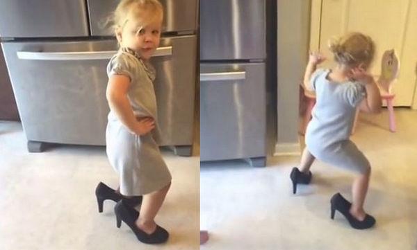 Αυτή η μικρή τα «σπάει» χορεύοντας το «Shake it off», της Taylor Swift (vid)