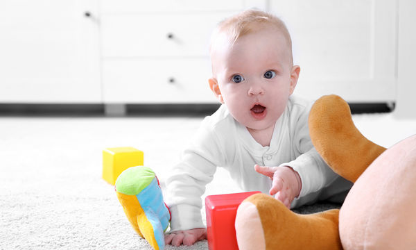 Αντιβακτηριδιακή κουδουνίστρα για μωρά