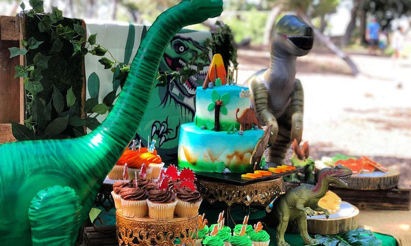 Παιδικό πάρτι με θέμα τους αγαπημένους τους δεινόσαυρους