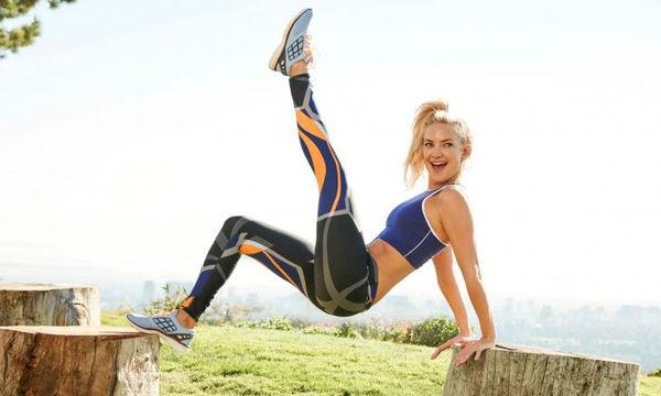Η θαυματουργή άσκηση που θα σου χαρίσει τα καλογυμνασμένα πόδια της Kate Hudson