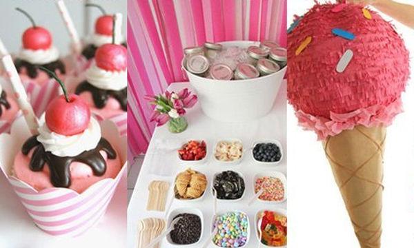 Παιδικό πάρτι με θέμα το παγωτό! 25 φανταστικές ιδέες (pics)