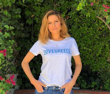 H  συμπαράσταση της Μaria Menounos στην Ελλάδα: «Σας έχω στην καρδιά μου»