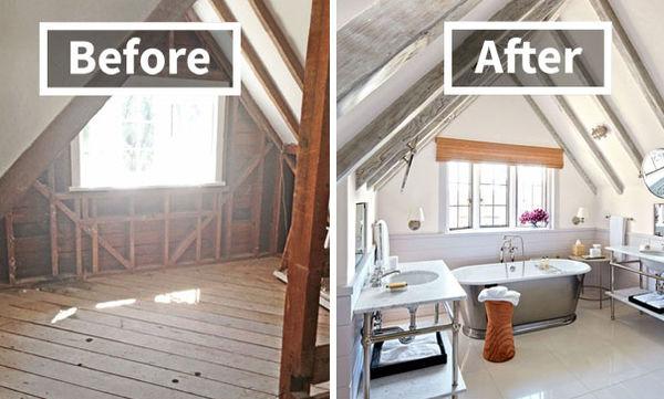 Είκοσι δωμάτια σπιτιού «πριν» και «μετά» την ανακαίνιση που θα σας εντυπωσιάσουν (pics)