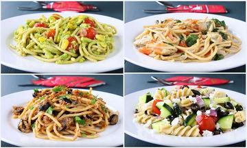 4 υγιεινές συνταγές με μακαρόνια για να χάσετε κιλά (vid)
