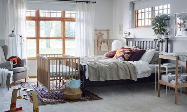 Πώς μπορεί σε ένα υπνοδωμάτιο να χωρέσει και η κούνια; 20 προτάσεις για να πάρετε ιδέες (pics)