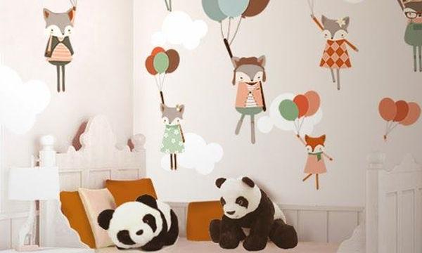 «Μεταμορφώστε» το παιδικό δωμάτιο με μια ταπετσαρία (pics)